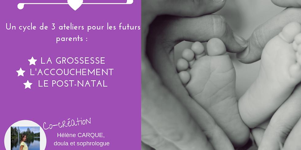 Cycle de 3 ateliers pour futurs parents