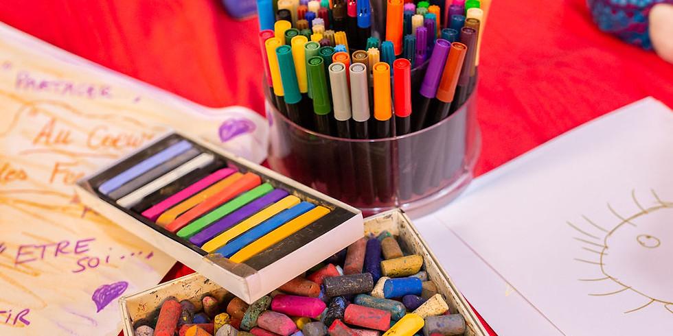 Atelier Exprimer ma créativité