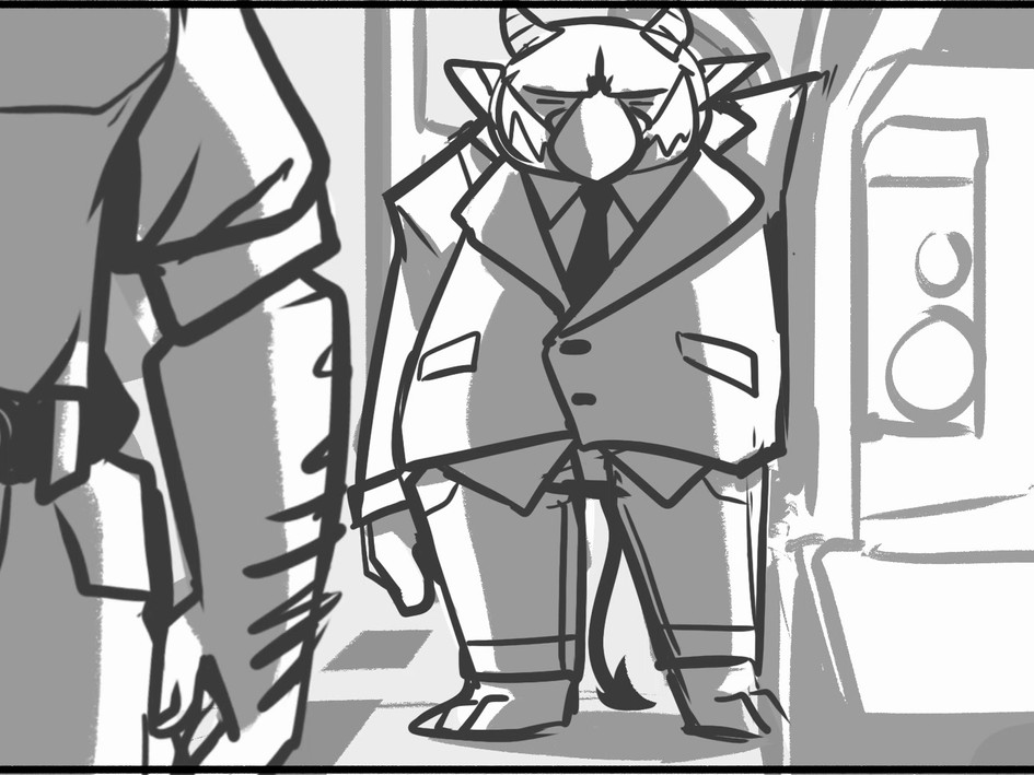 The Lesser of Two Animatic