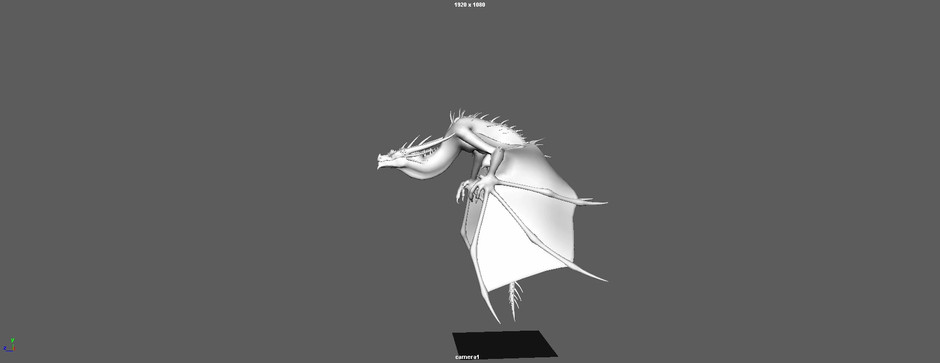 Dragon Rig by Truong CG Artist. Responsible for animation only.