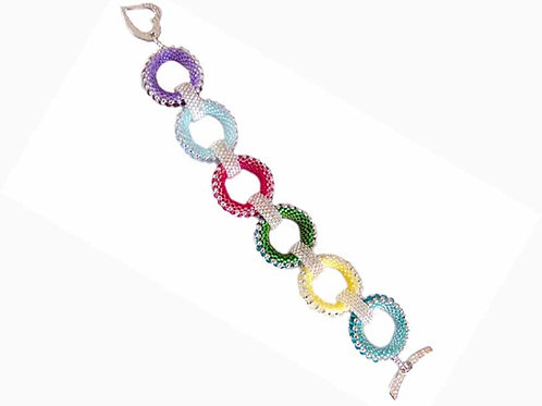 Spangles Bracelet - Letter Size