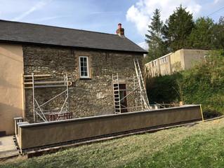 August 2016 - New Garden Wall