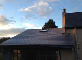 October 2014: Finished Utility/Carport Roof and Woodshed cladding