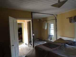 Sep 2011: House renovation starts