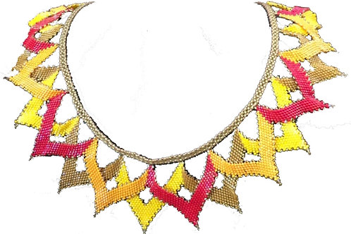 Indian Summer Necklace - A4 Size