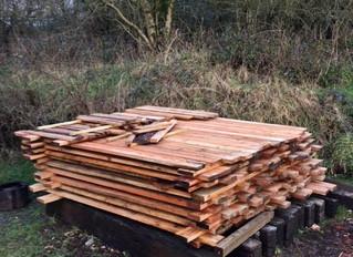 February 2017: New wood