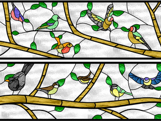 November 2019: Stained Glass Windows