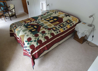 August 2013: Holidays, Yurt visitors, Quilt