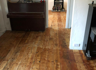 November 2018: New wood floors.