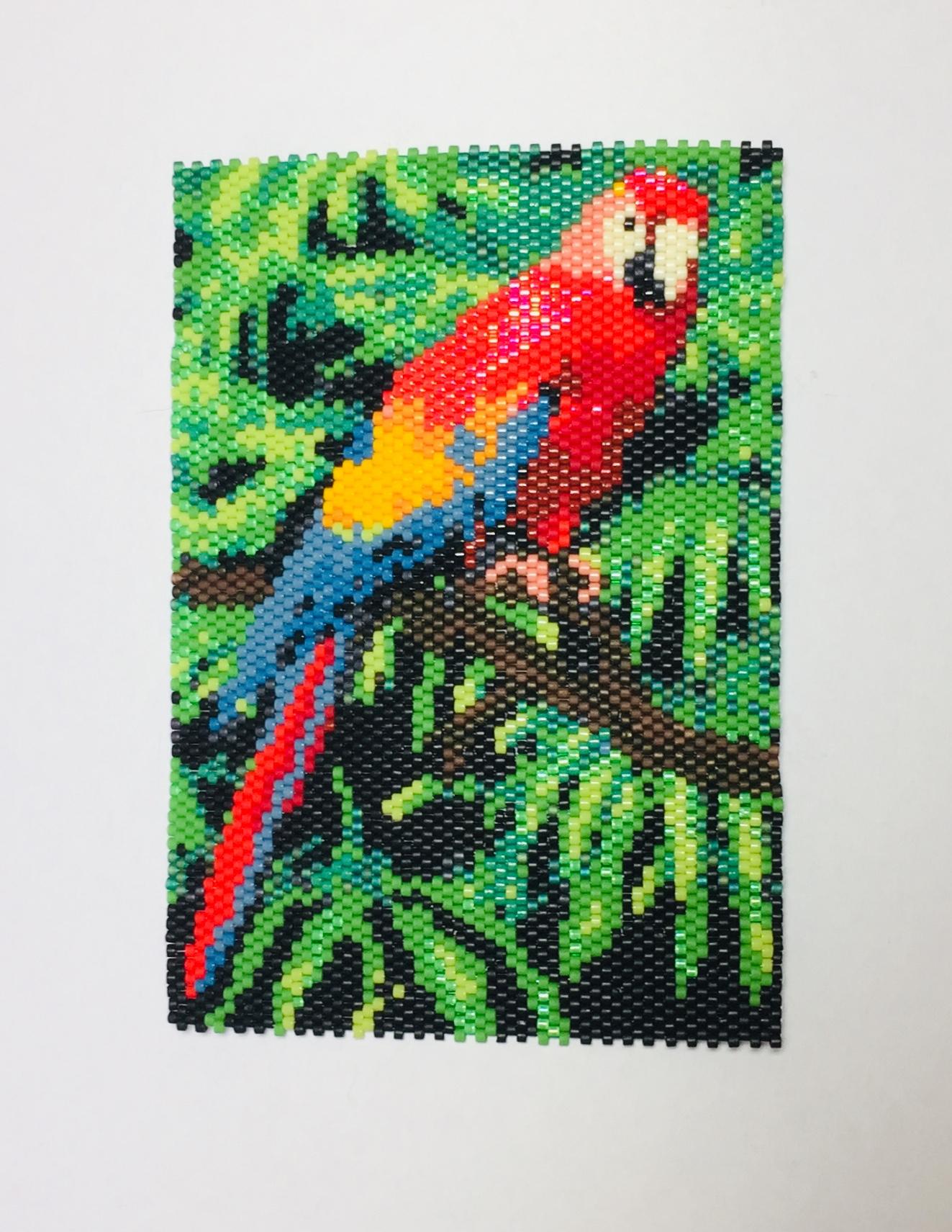 Beaded_parrot