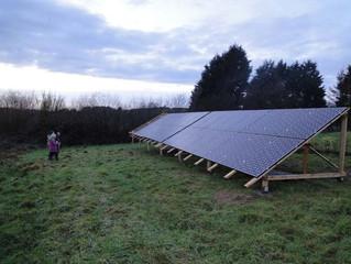 Nov 2011: PV system installation