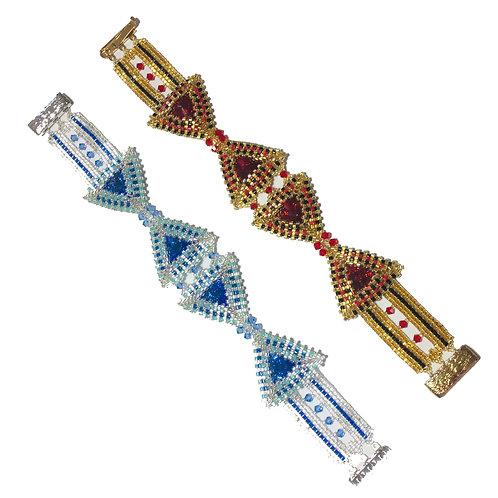 Bow Tie Bracelet - Letter Size