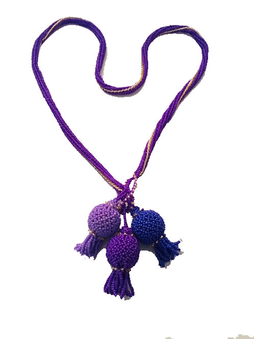 Thistle Necklace - A4 Size