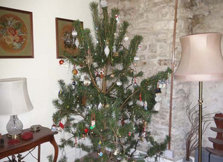 Dec 2012: Christmas tree chopped down and decorated. Visit to Dinefwr Castle.