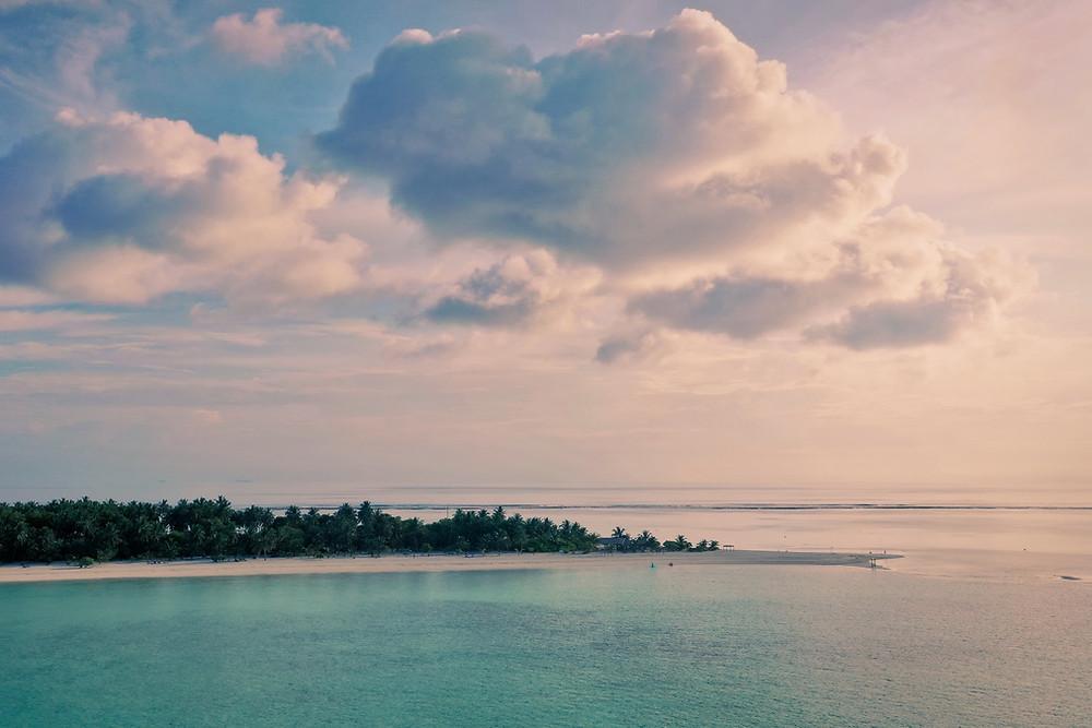 Мальдивы фото с дрона