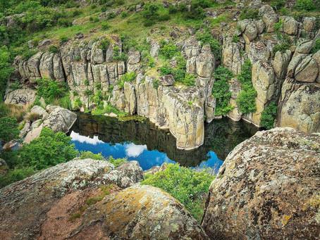 Актовский каньон – отдых с палаткой в Украине