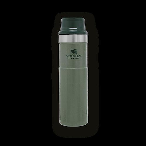 Stanley 470 ml Trigger Action Termos Travel Mug Yeşil 0,47 lt