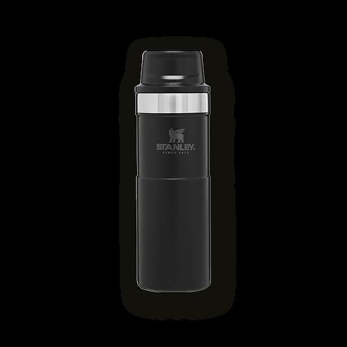 Stanley 470 ml Termos Travel Mug Trigger Action Siyah 0,47 lt