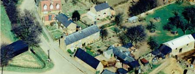 1960s Aerial Photo of south end of Hill View