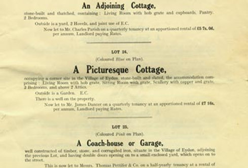 Catalogue, Sale of Eydon Estate 1925, Page 13