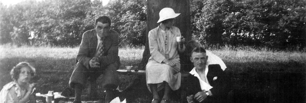 Walker Family Picnicking