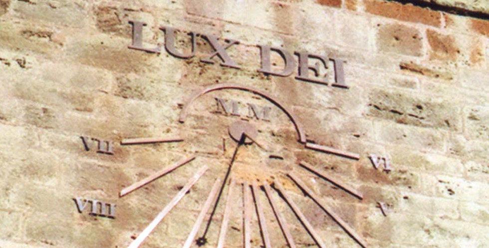 Millennium Sundial, Church Tower