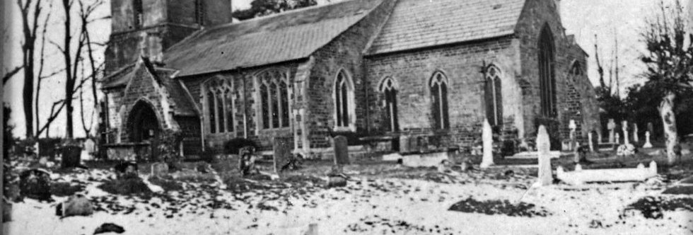Church from South East, 1920s