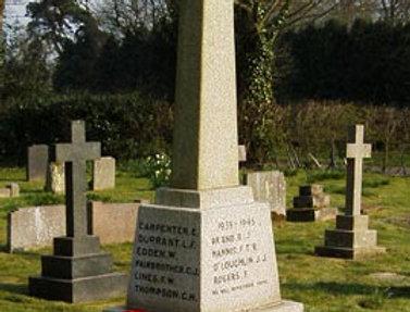 War Memorial, Eydon Burial Ground
