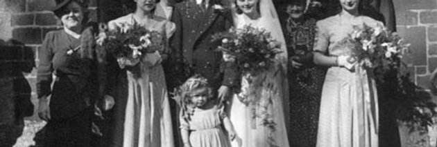 Kathleen Edwards Marries Bill Allen, 1948
