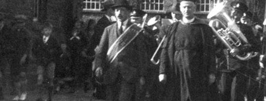 Percy Pratt & Rev Disney, c1932