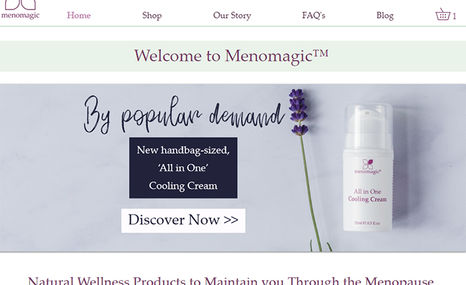 Menomagic Menomagic was launched on World Menopause Day in O...