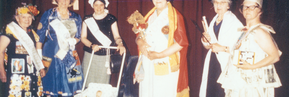 Fancy Dress at the WI, colour, 1980s