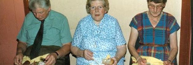 Retirement Celebration Supper at the Village Hall
