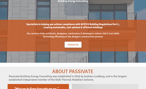 Passivate Building Energy Consulting Specialists in helping you achieve compliance with...