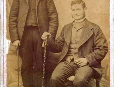 Carte de Visite, c 1860/1870, Gubbins Family?