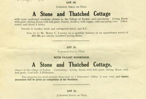 Catalogue, Sale of Eydon Estate 1925, Page 12