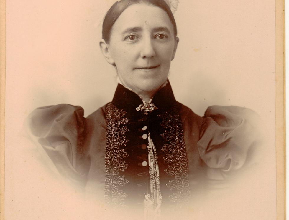 Elizabeth Malsbury Weston. c1890