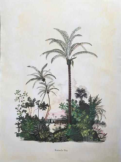 Kamala Bay (A1) - Unframed