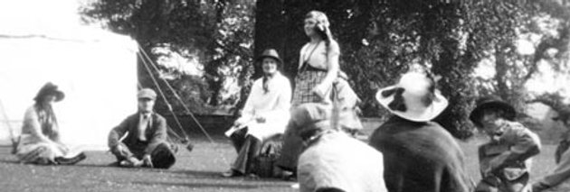 Another View of Women's Play at Fete,  c1920s
