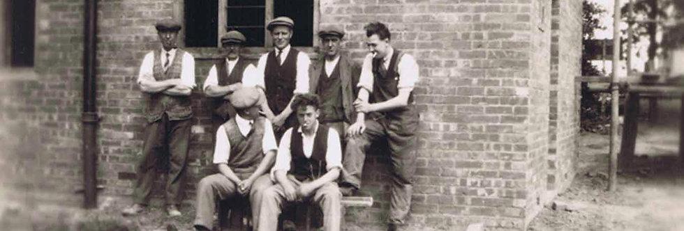 Eydon builders at Kenilworth mid 1930s