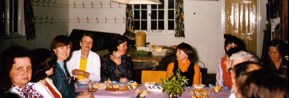 Eydon WI Celebratory Meal, June 1977