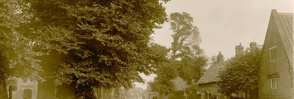 Eydon High Street & Cross Tree early 1900s