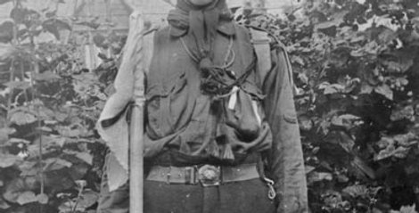 Fred Kench as a Scout Patrol Leader