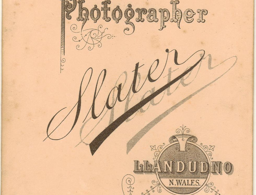 Reverse of photo of John Henry Weston