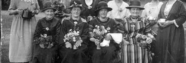 Group of Prize Winning Ladies, 1920s or 30s