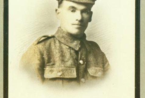 Private W Edden, WW1 Memorial Board