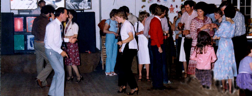 Village Hall Party, Royal Wedding, 1981