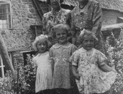 Mrs Maynard, Miss Hemmings and the 3 Little Girls, 1941