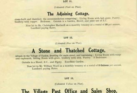 Catalogue, Sale of Eydon Estate 1925, Page 10