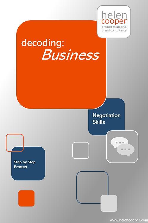 Decoding: Business – Negotiation Skills